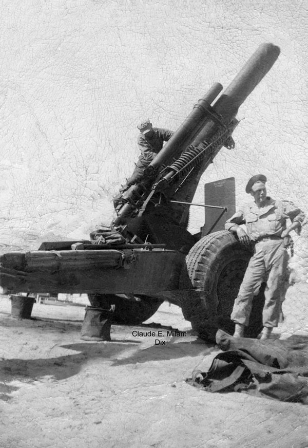 Dix with 155mm Howitzer cannon