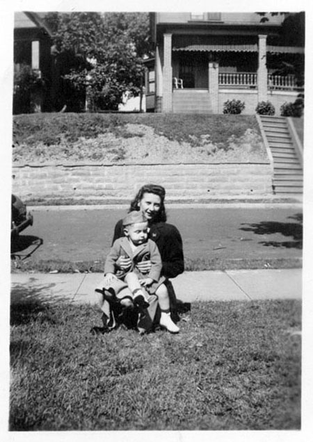 Helen with Billy 1943