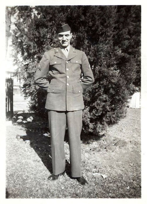 Corporal William Freer Milam 1943