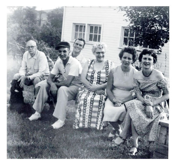 Freer and Parents 1961