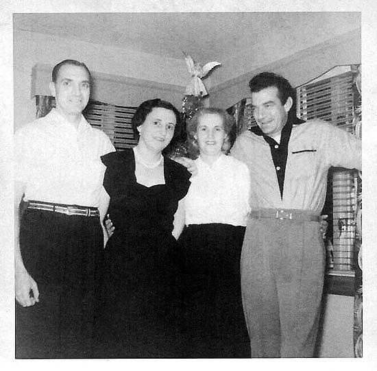 Freer, Christine, Clara and Lakin 1949