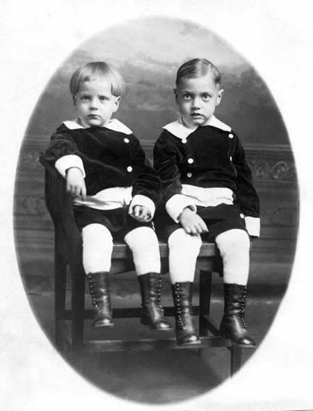 Freer And Brother Loren 1915