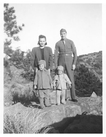 Freer's Family Garden of the Gods 1944