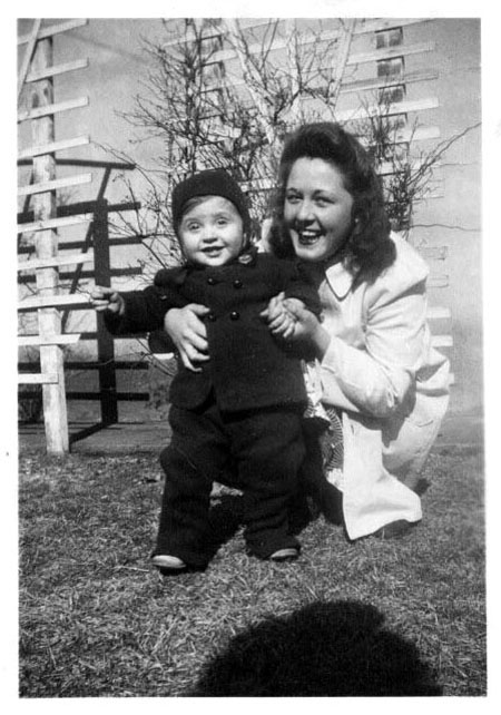 Martha with Billy late 1942.