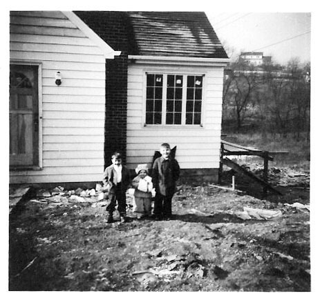 Wintersviille House construction 1946