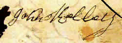 John Kelley Signature 1769