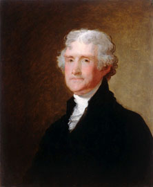 Stuart Portrait of T Jefferson
